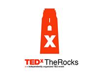 TEDxTheRocks Branding