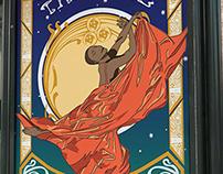 Alvin Ailey Theatre Poster