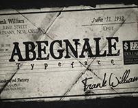Abegnale Typeface