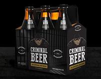 Criminal Beer Branding