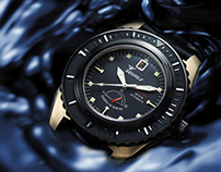 Squale Professional diving watches ADV campaign