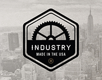 Retro Industrial Logos - Vol. 1