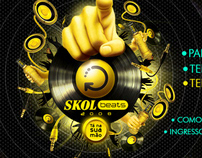 Skol Beats Site - Home Pages