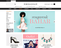 Modagram Website / Redesign