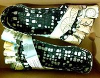 Paper Shoe Design