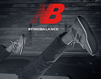 "New Balance Shoes - ""Find Balance"""