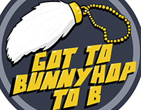 Got to Bunnyhop to B Sticker Concept