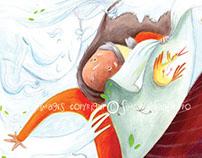 """French Book Project -""""la vieille dame et le vent"""""""