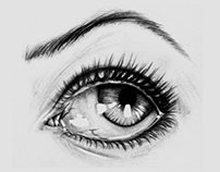 Realistic Eye Sketch 2012