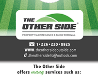 The Other Side - Logo Design and Marketing Material