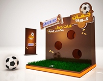 Snickers Mini Football  Competition Game.