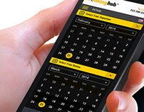 Booking Hub Mobile Site