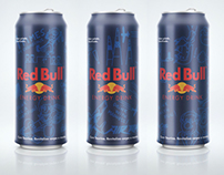 Packaging / Red Bull Cartoon Edition