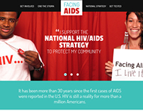 Facing AIDS Redesign