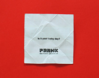 Talk to FRANK Ad Campaign: Is It Your Lucky Day?