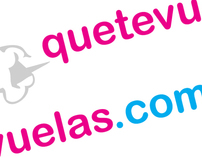 Low cost travel site    quetevuelas.com