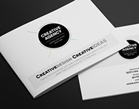 Creative Agency A5 Brochure InDesign Template