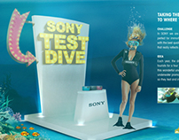 Sony Test Dive
