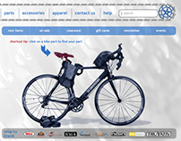 BikePartsUSA Website Redesign