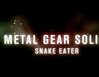 Snake eater motion graphics.