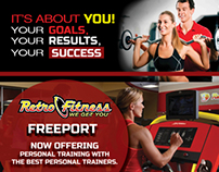 Effective Fitness Training personal training flyer
