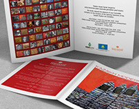 Kazakh Modern Art Exhibition Invitation