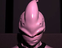 Majin Buu 3D Digital Sculpting and Animation
