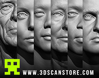 3Dscanstore Head References