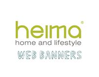 Heima Website Banners