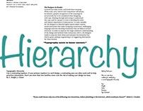 Typography Newspaper