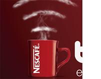 NESCAFE FREE WIFI / METRO