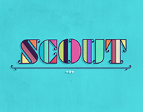 SCOUT logo animation