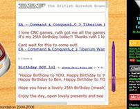 BritishBoredomFoundation.co.uk - 2004-2006