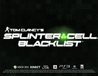 Video Game Trailer: SplinterCell Blacklist