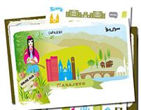 Sarajevo Postcards