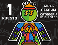 Premio Girls Assault- Skateboarding femenino
