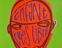 Portraits 'Enfant très libre' 50x65cm