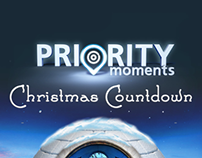 O2 Priority Moments Christmas Countdown