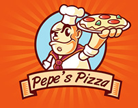 Pepe's Pizza Place Logo