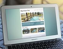 Website: Elegant Custom Pools