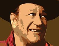 John Wayne Portrait - 2012