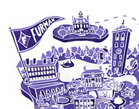 Furman University Campus Map