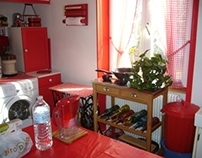réaménagement et décoration d'une cuisine