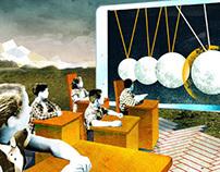 Smart Boredom - illustrations for Goethe Institu
