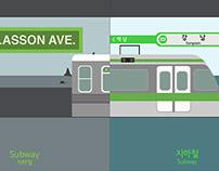 Motion: New York vs Seoul