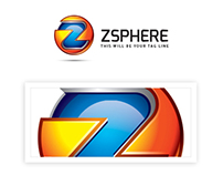 ZSphere Logo Template