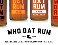 WHO DAT! New Orleans Rum Concepts