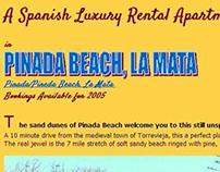 Pinada Beach, La Mata (Rental Apartment) - 2005