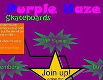Purple Haze Skateboards - 1999