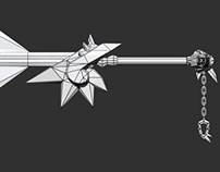 In Progress - Low Poly Sword